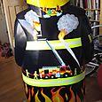 Firefighter Baron Back