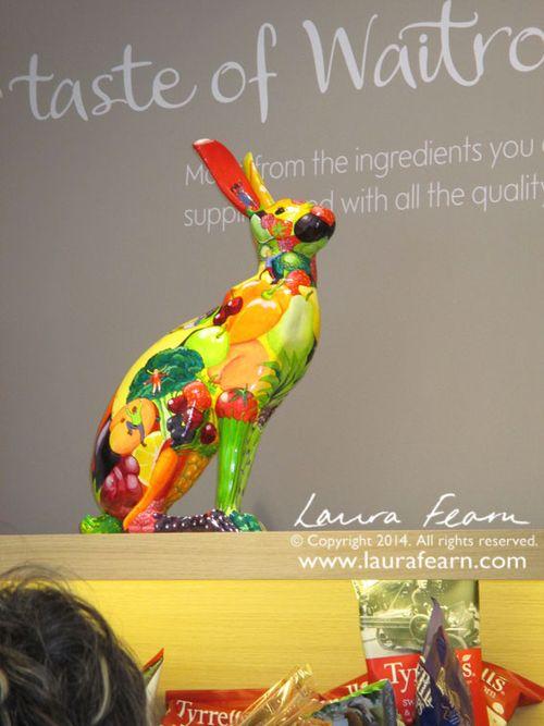 Waitrose Hare in situ